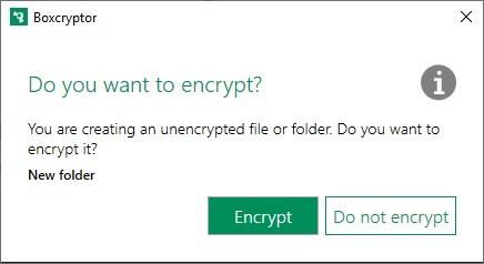 Boxcryptor encrypt folder
