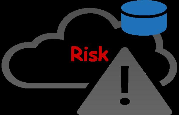 cloud storage risk factors