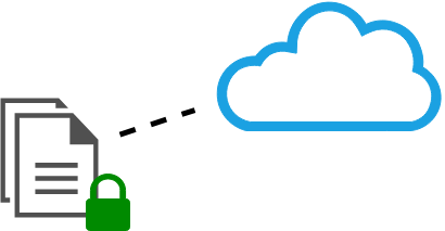 encrypted data before storing at cloud