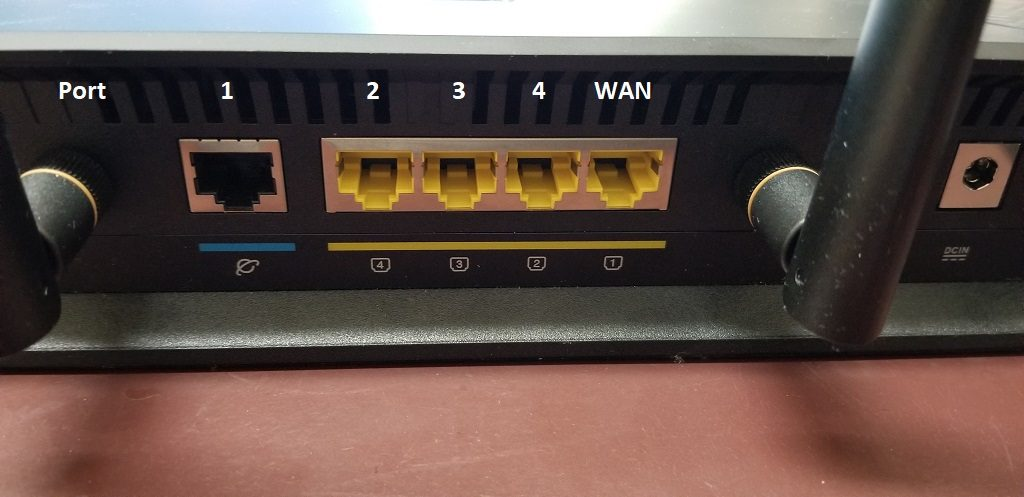 different port assignment by DD-WRT