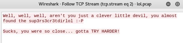 TCP stream 2
