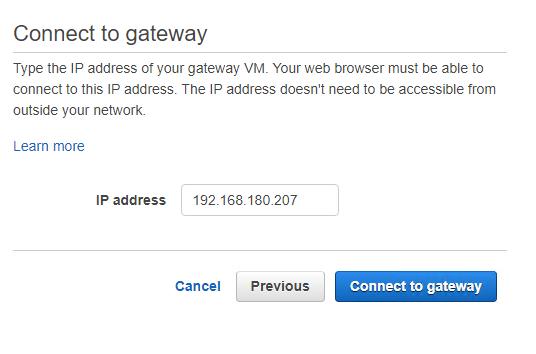 enter IP