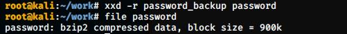 hex to binary