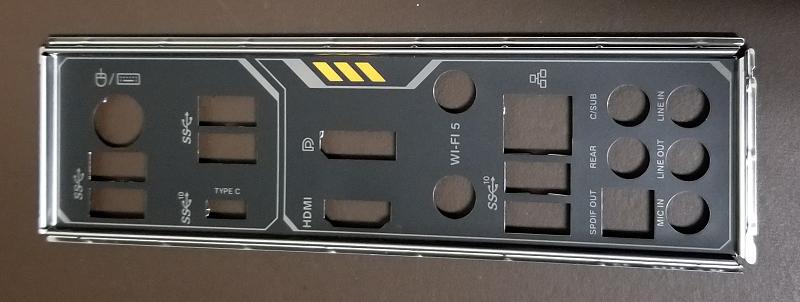 panel plate