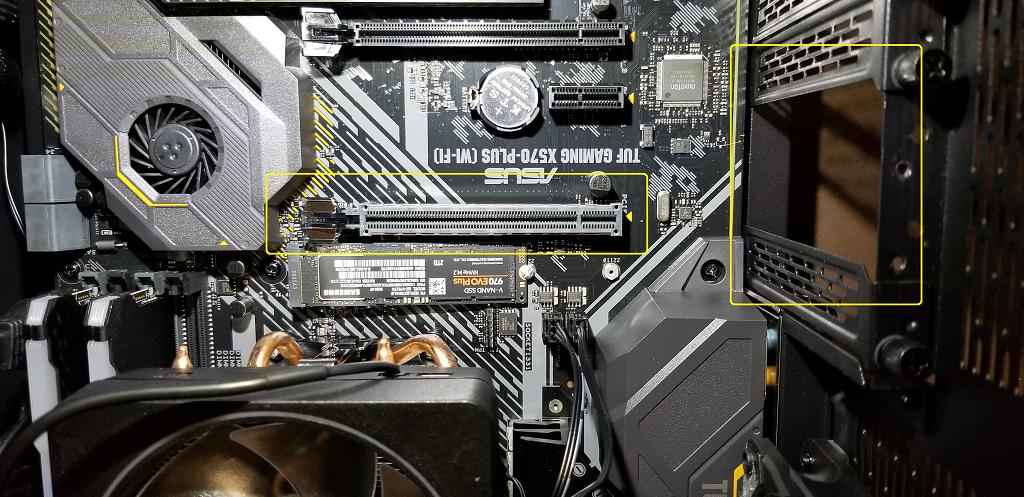 mobo ready for GPU