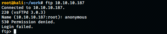 no anonymous ftp
